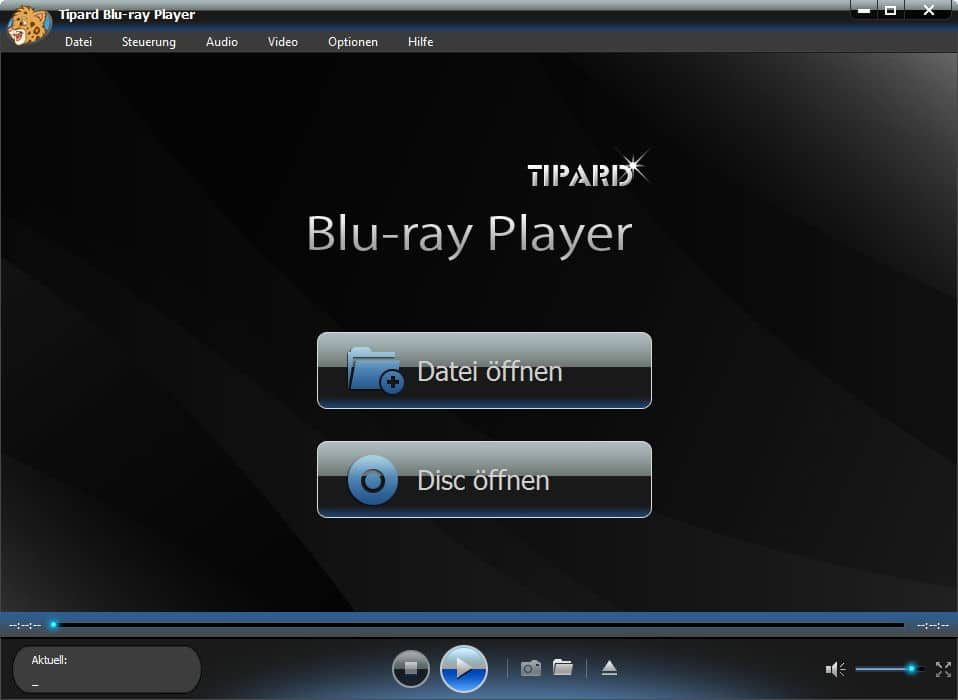 Tipard Blu-ray Player Screenshot 1