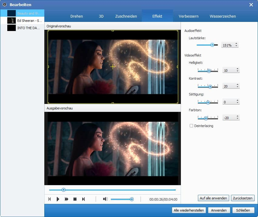 Tipard Video Converter Platinum - Screenshot 3