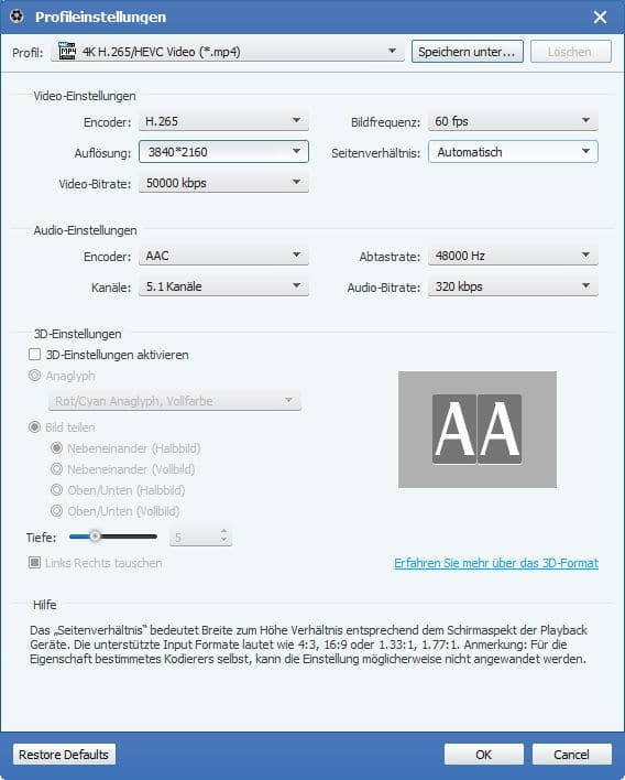 Tipard Video Converter Platinum - Screenshot 4