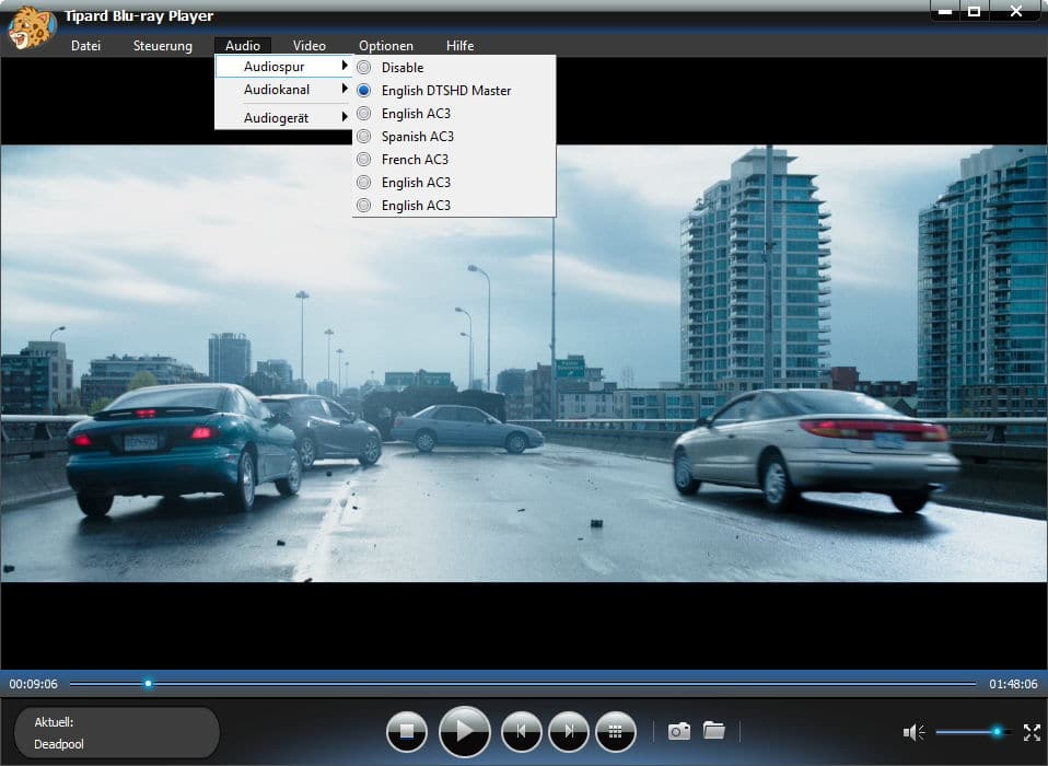 Tipard Blu-ray Player Screenshot 4