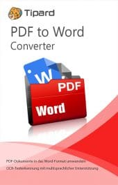 Tipard PDF to Word Converter - Boxshot