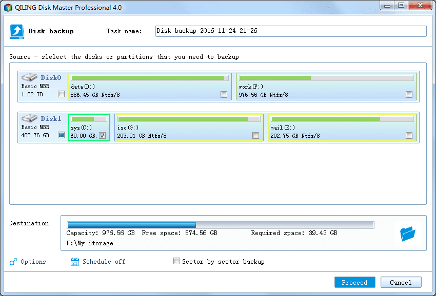 Disk Master Professional - Screenshot 2