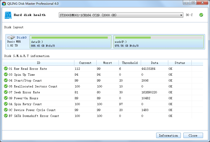 Disk Master Professional - Screenshot 3