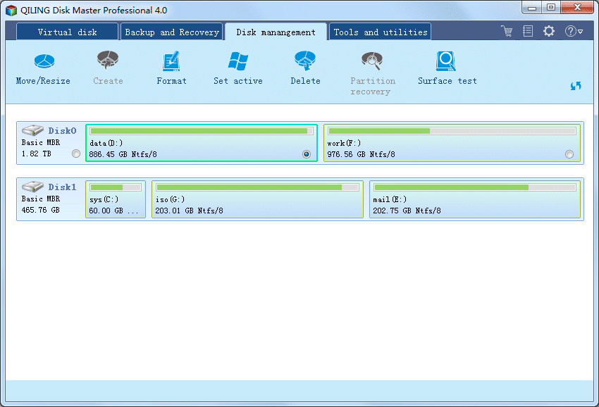 Disk Master Professional - Screenshot 7
