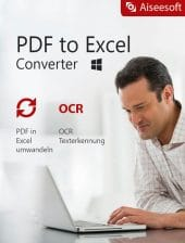 Aiseesoft PDF to Excel Converter - Boxshot
