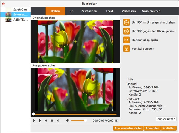 Aiseesoft Video Enhancer Mac - Screenshot 3