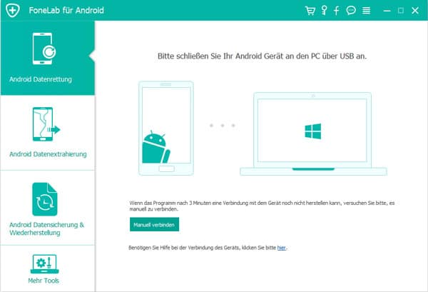 Aiseesoft Fonelab Android Datenrettung - Screenshot 2