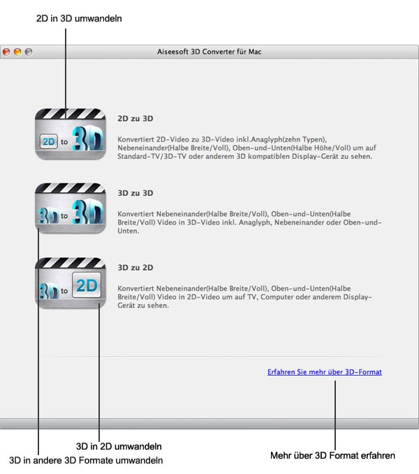 Aiseesoft 3D Converter Mac - Screenshot 4