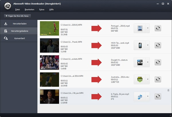 Aiseesoft Video Downloader - Screenshot 4