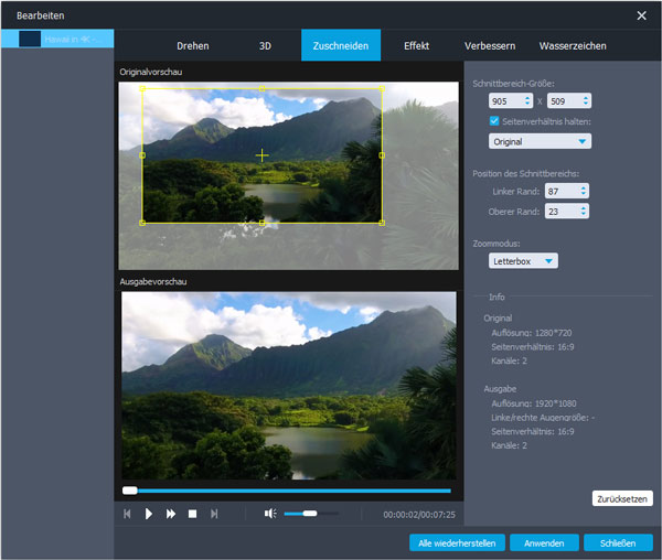 Aiseesoft Video Converter Ultimate 9 - Screenshot 3