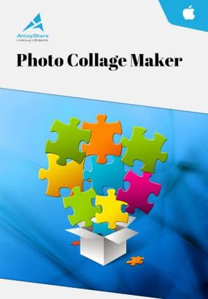 AmoyShare Photo Collage Maker Mac - Packshot