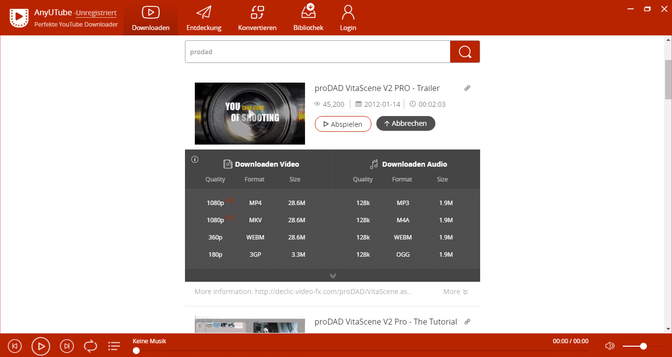 AmoyShare AnyUTube - Downloaden