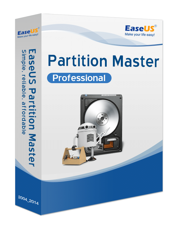 Partition Master Pro - Packshot