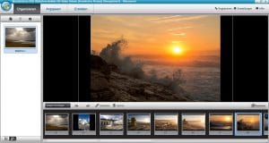 Wondershare DVD Slideshow Builder HD-Video Deluxe - Organisieren