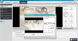 Wondershare DVD Slideshow Builder HD-Video Deluxe - DVD Menü bearbeiten