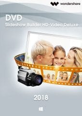 Wondershare DVD Slideshow Builder HD-Video Deluxe - Boxshot