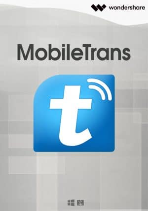 Wondershare MobileTrans Mac - Boxshot