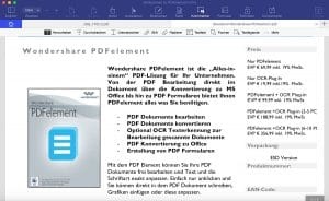 Wondershare PDFelement 6 Professional - Kommentar