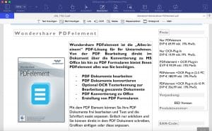 Wondershare PDFelement 6 Professional - Bearbeiten