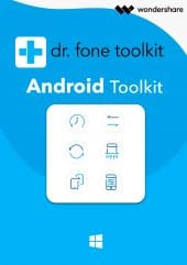 Wondershare Dr. Fone Android Toolkit - Boxshot