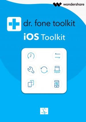 Wondershare Dr. Fone iOS Toolkit Mac - Boxshot