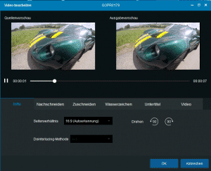 DVDFab Video Converter - Video bearbeiten Windows