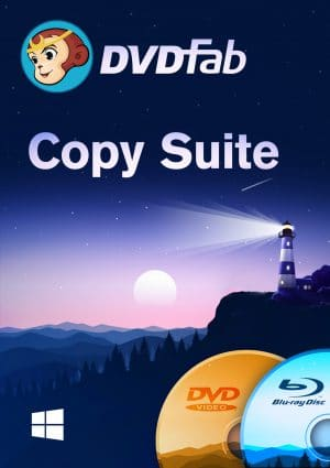 DVDFab Copy Suite - Packshot