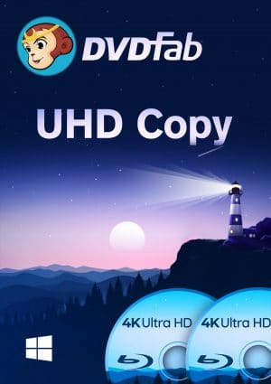 DVDFab UHD Copy - Boxshot Windows