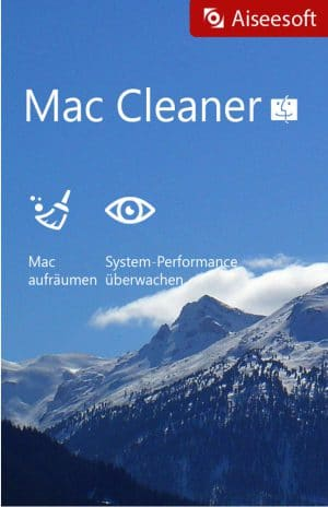 Aiseesoft Mac Cleaner - Packshot