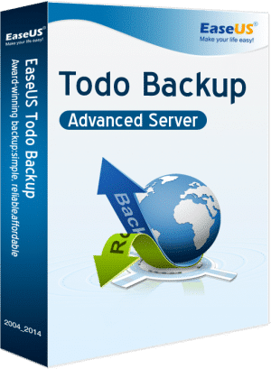 EaseUS Todo Backup Advanced Server- Packshot