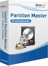 EaseUS Partition Master Professional - Packshot