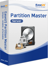 EaseUS Partition Master 13 - Server - Boxshot