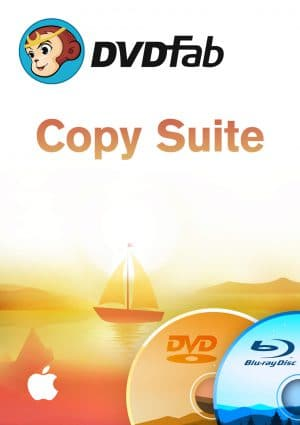 DVDFab Copy Suite Mac - Packshot
