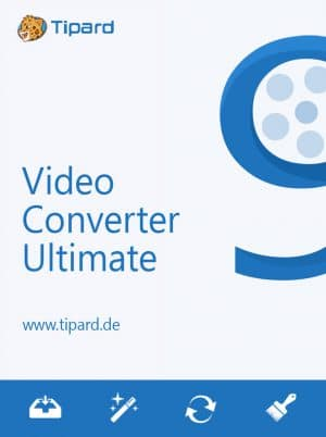 Tipard Video Converter Ultimate 9 - Packshot