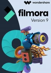 Wondershare Filmora 9 - Packshot